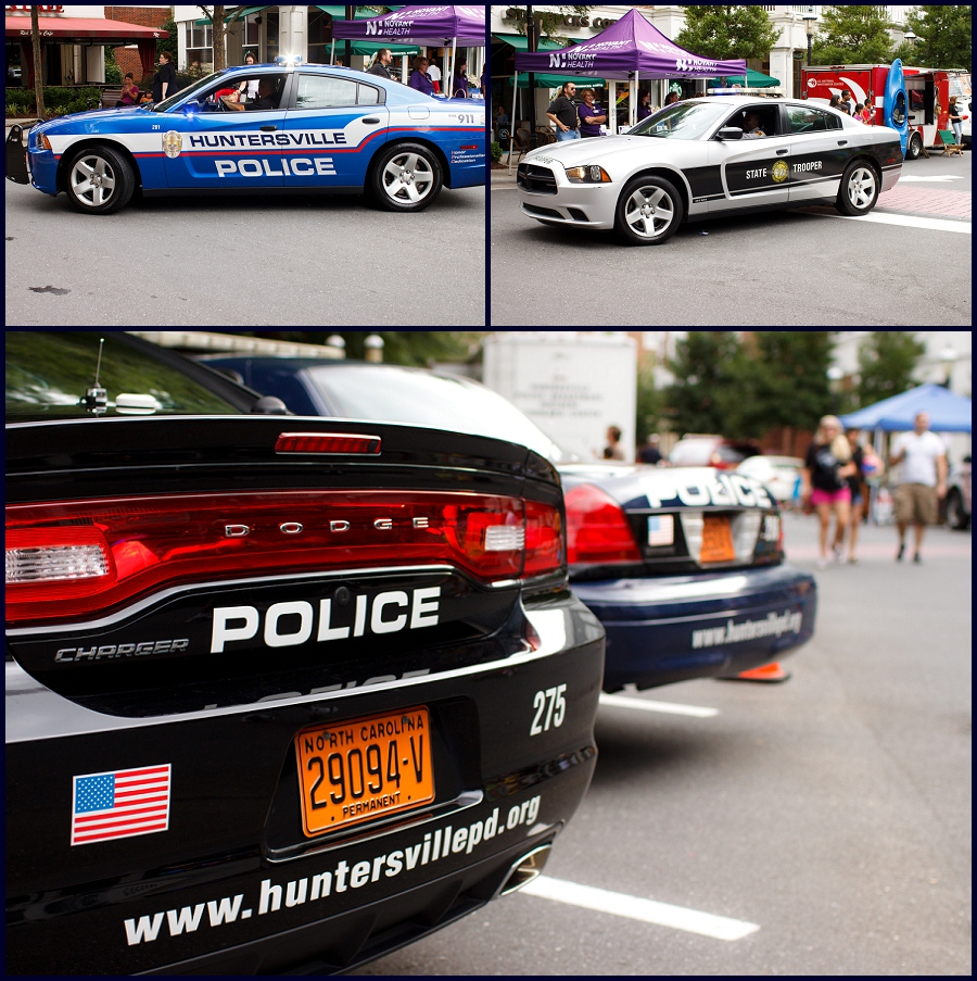 Huntersville Police and NC State Troopers