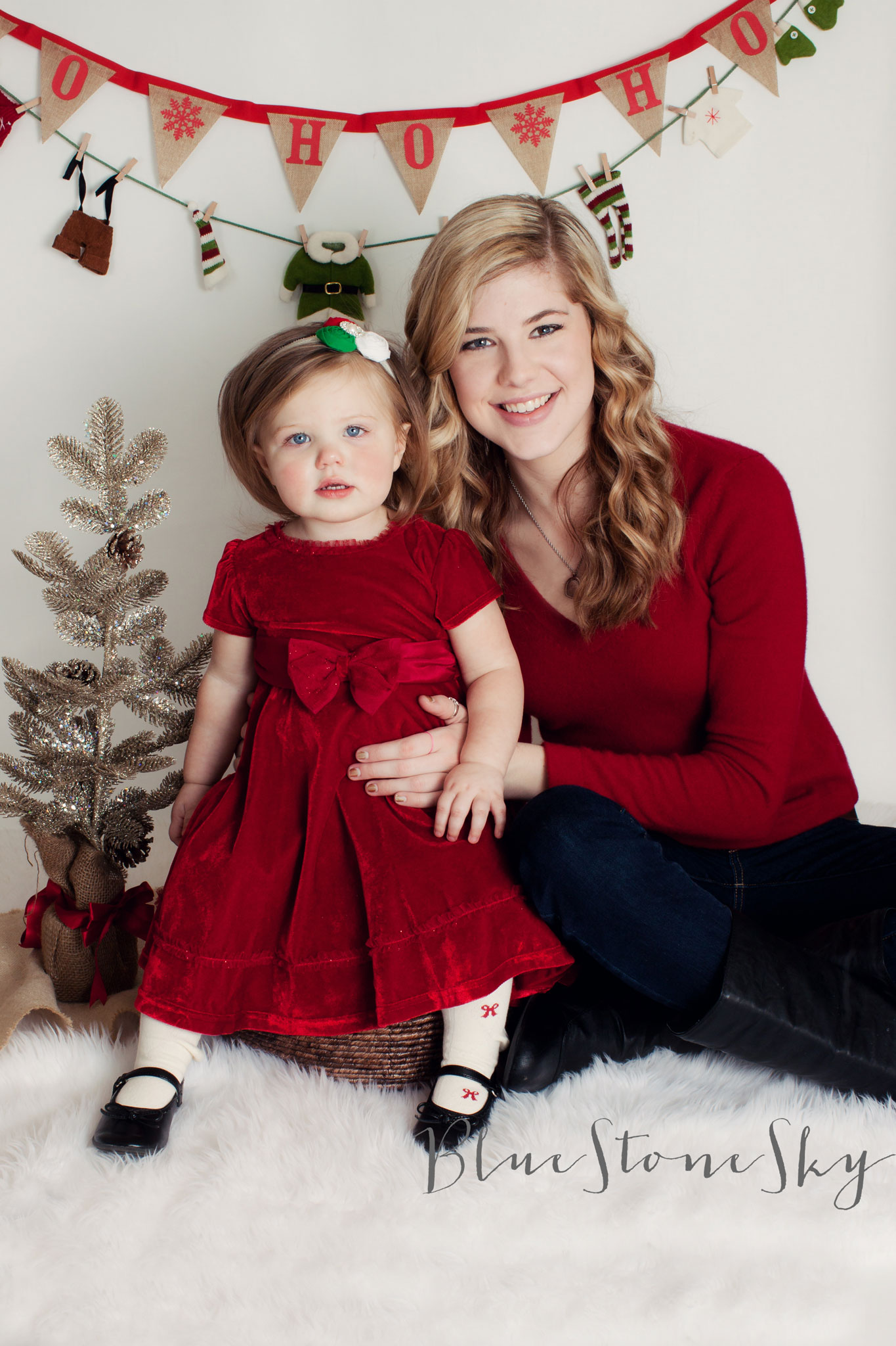 Huntersville Christmas Portraits